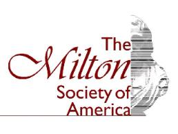 Milton Society of America Membership